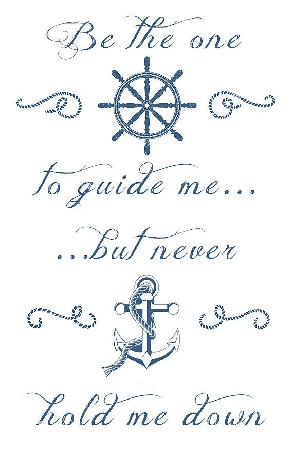 Be the One to Guide Me 11x14 typography quote by inoroutmedia, $22.00