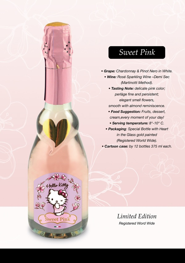 Hello Kitty Wine by Torti