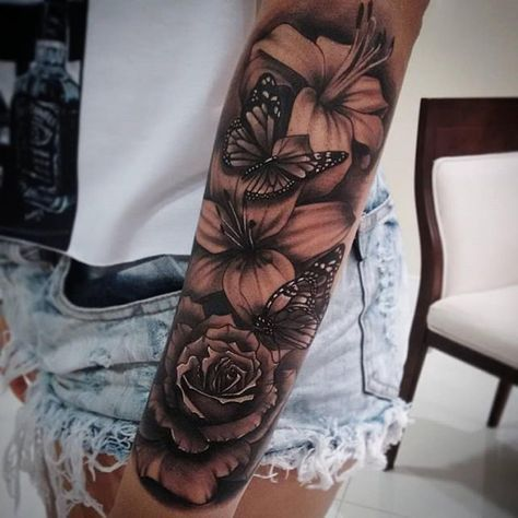 Best 25 flower tattoo designs ideas on pinterest for Electric lotus tattoo