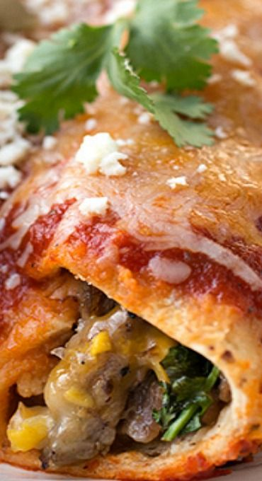 671 best best mexican recipes images on pinterest mexican food flank steak four cheese enchiladas with sweet corn topped with homemade smoky chipotle enchilada forumfinder Gallery