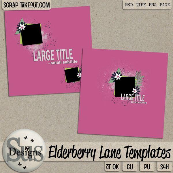 Elderberry Lane Templates