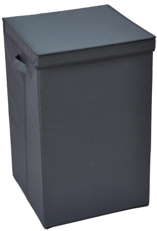 Grey Laundry Basket 36*36*58cm