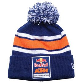 KTM Red Bull Factory Racing Pom Logo Beanie #Cutest #moto #hat #cap #beanie #winter #snowboarding #snow #snapback #clothes #fashion #black #pink #white #teal #grey #gray #blue #fall #winter #summer #spring