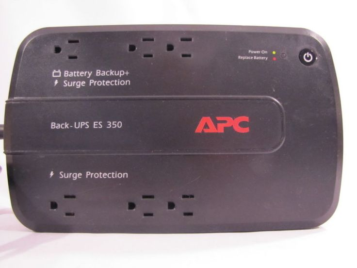 APC Battery Backup UPS Power Loss Electricity Outage Home Office Computer BE350G - http://electronics.goshoppins.com/power-protection-distribution/apc-battery-backup-ups-power-loss-electricity-outage-home-office-computer-be350g/