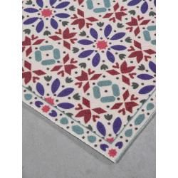 Tapis Tiznit - motif marocain coloré - Trinity Creations