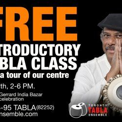 Free Introductory Tabla Class Photo #1