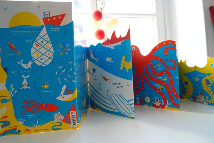 Hector dexet - La mer-leporello- editions Amaterra http://hectordexet.ultra-book.com