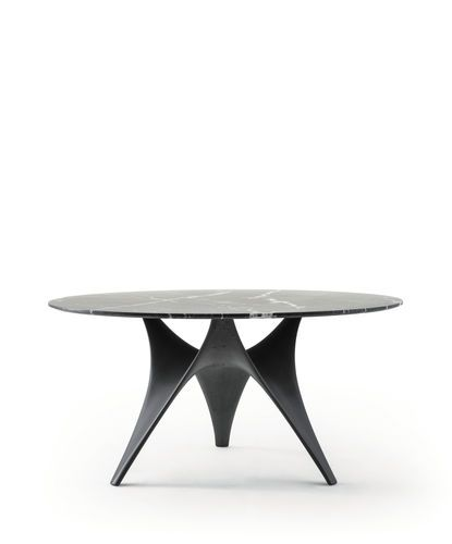 Dining table / contemporary / cement / glass ARC by Foster + Partners Molteni & C
