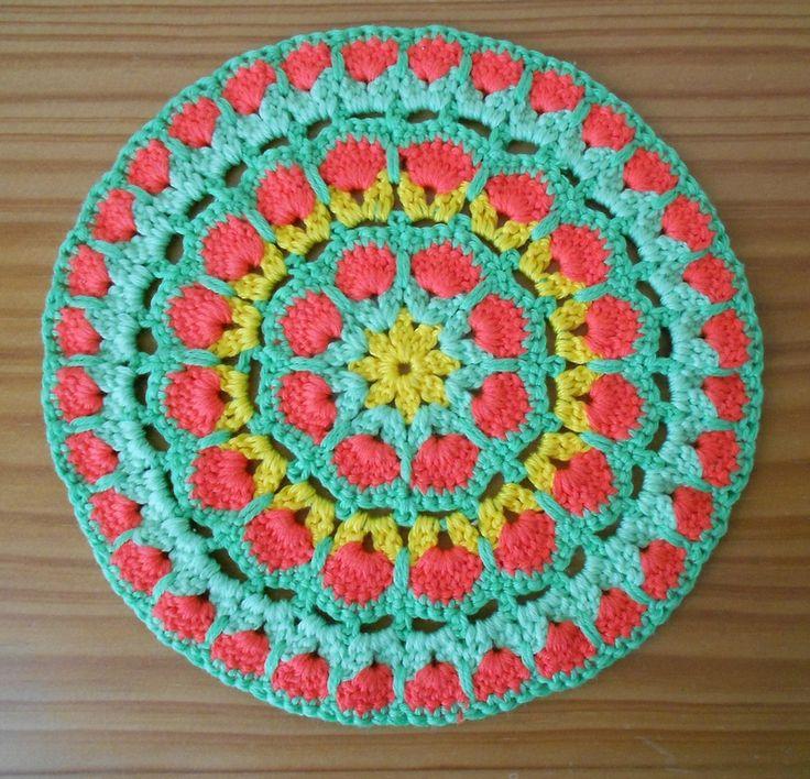 Diagramme Granny Mandala African flower ༺✿ƬⱤღ✿༻