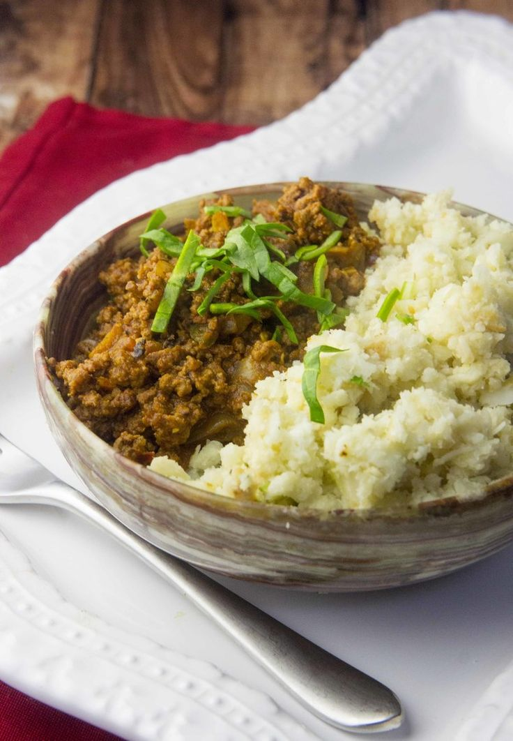 Paleo Ground Beef Korma — Foraged Dish this was awesome!