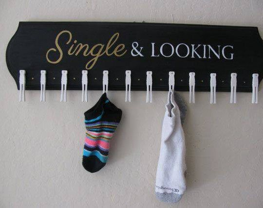 Perfect Place For Lonely Socks