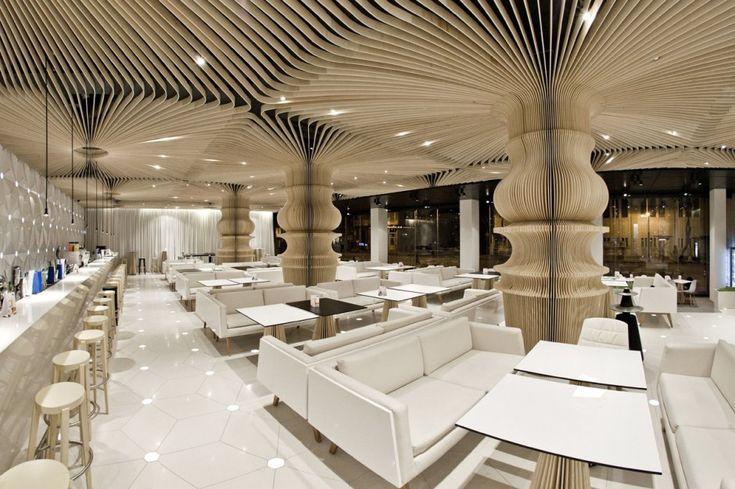 Graffiti Cafe / Studio MODE #cafe #space #design