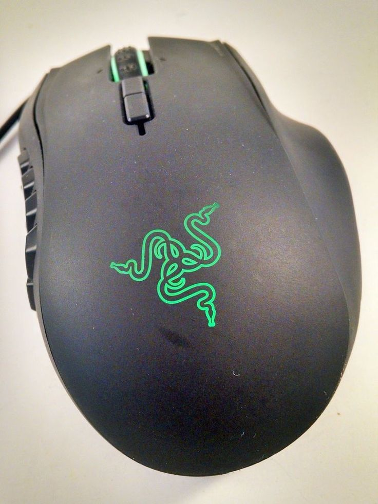 Razer Naga 2014 Ergonomic MMO Wired Gaming Mouse  Black Free Shipping #naga