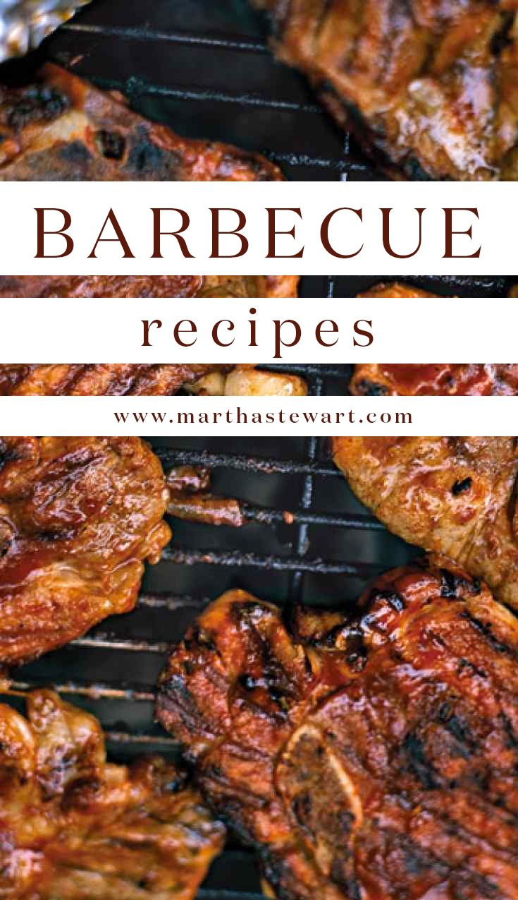 Martha stewart grilled pork chop recipe
