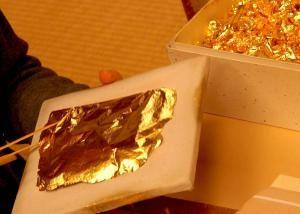 Cómo aplicar pan de oro en sencillos pasos: Material necesario para aplicar Pan de Oro: