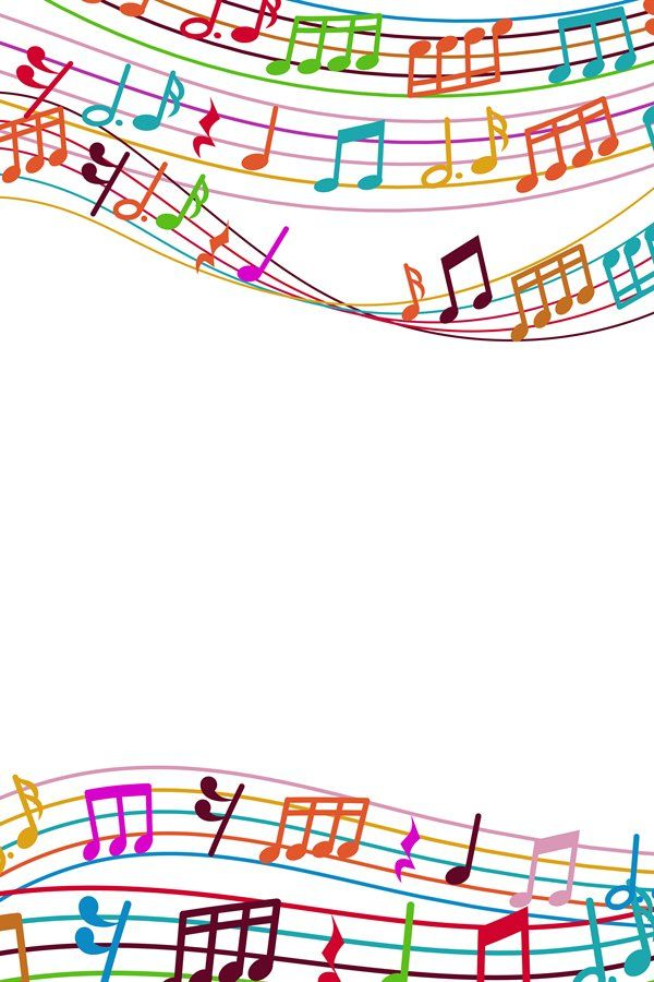 Musical Background With Colorful Music Notes And Waves 890877 Illustrations Design Bundles In 2021 Illustration Design Music Notes Business Illustration