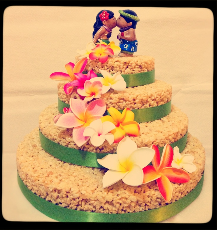 Rice Krispies Wedding Cake Cakes Pinterest Homemade Rice Krispies Cute Cakes  And Homemade