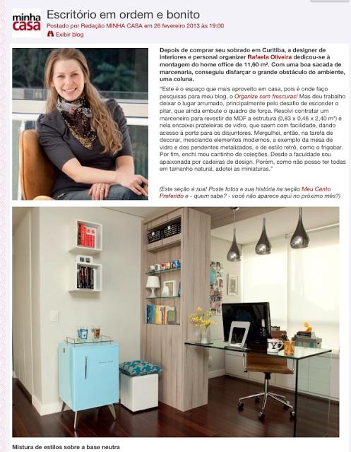 meu escritrio na revista minha casa