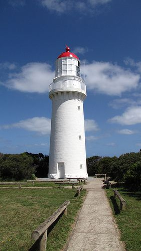 Cape Schanck lighthouse [1859 - Cape Schanck, Victoria, Australia]