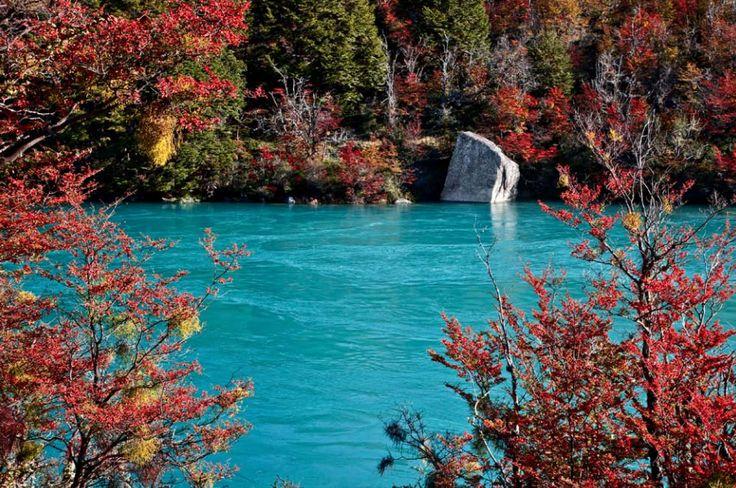 El lugar mas hermoso del mundo: la patagonia desconocida... río más caudaloso de Chile (ir al sitio)