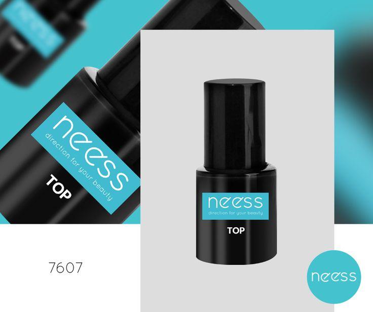 Lakier hybrydowy TOP NEESS, gwarantuje maksymalna ochronę i połysk lakieru hybrydowego. Pojemność 8ml.