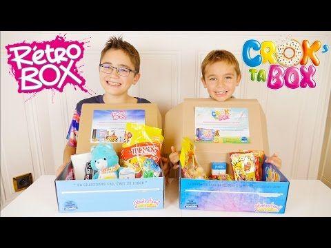 CROK TA BOX & RETRO BOX - DES BONBONS CRO BONS ! - Surprises & Dégustation - YouTube