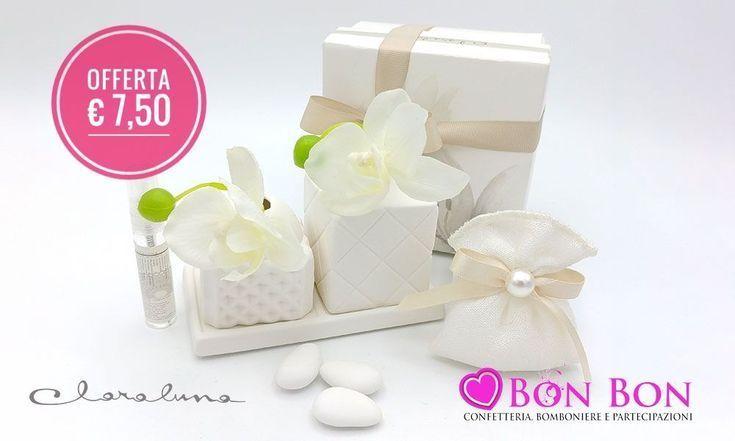 Offerte Bomboniere Matrimonio.Wedding Favor Offer Diffuser Set With Orchid Inc Bomboniera
