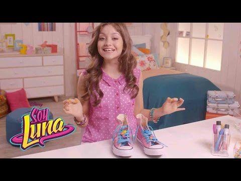 Soy Luna DIY – Zapatos personalizados - YouTube