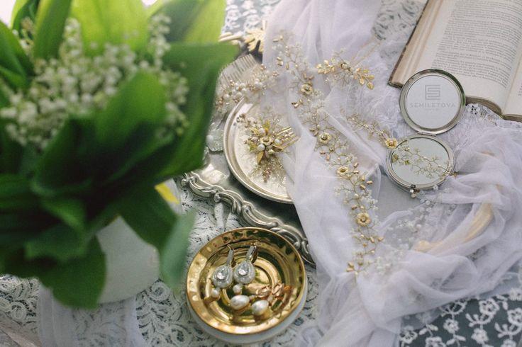 SEMILETOVA jewelry Wedding collection 2017