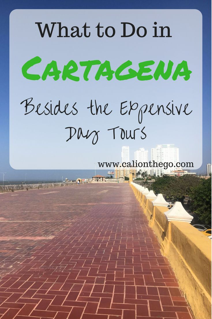 Tour operators often push you to buy expensive day tours. Read how you can fill your days on a budget in Cartagena, Colombia.