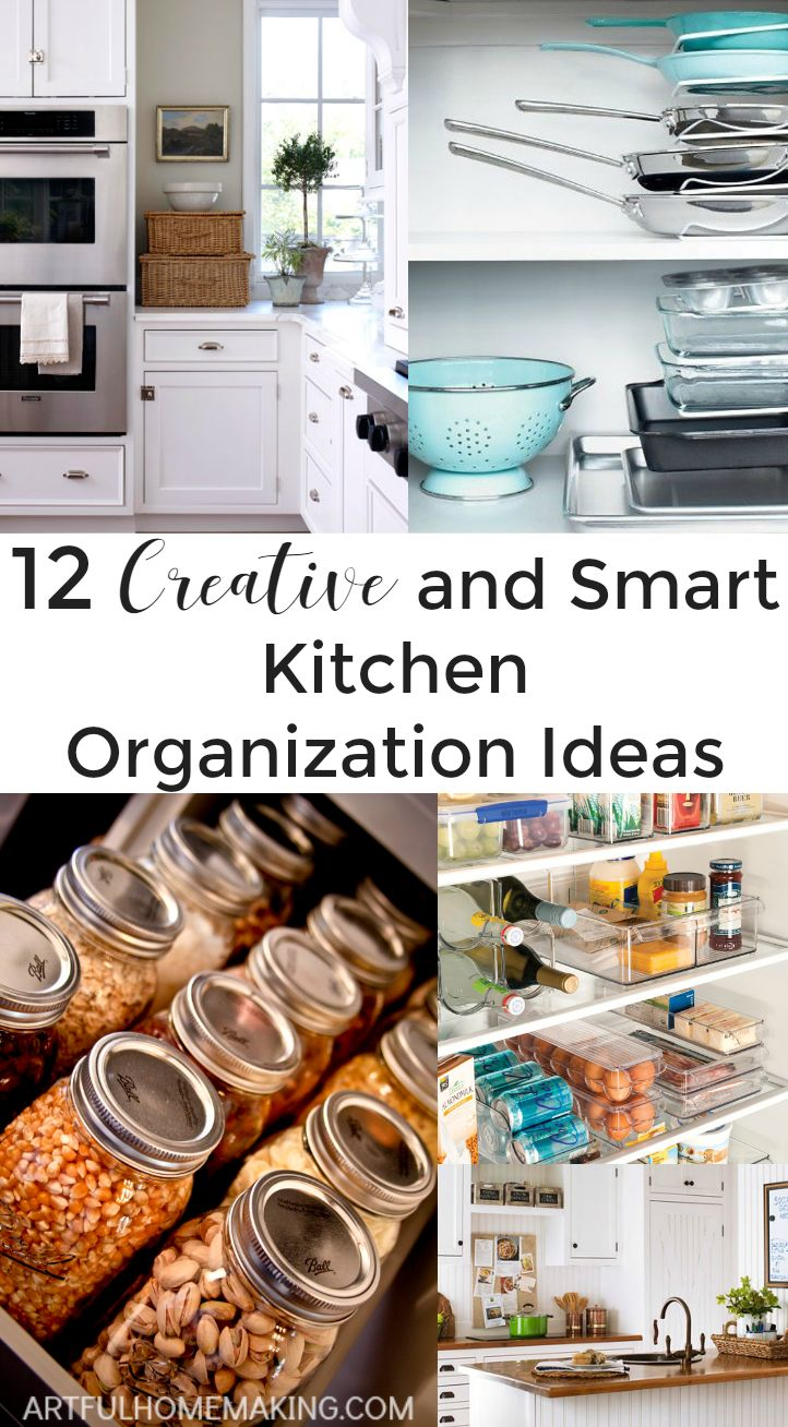 Love these 12 genius kitchen organization ideas
