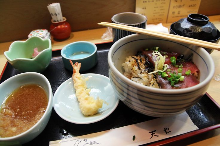 japanese tempura set X2 Tenmatsu   One of the Best Tempura (天ぷら) Restaurants in Tokyo  Take the Tokyo Metro to Mitsashae-mai station, exit at B6, and make an immediate right turn around the corner. Tenmatsu Restaurant will be on your right hand side.