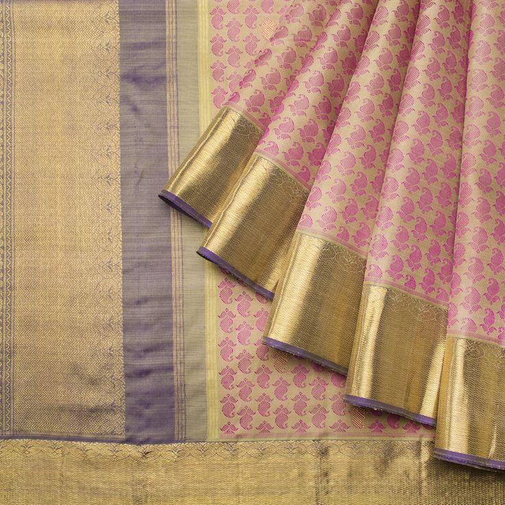 Kanakavalli Handwoven Kanjivaram Silk Sari 1012902 - Brands / Kanakavalli - Parisera