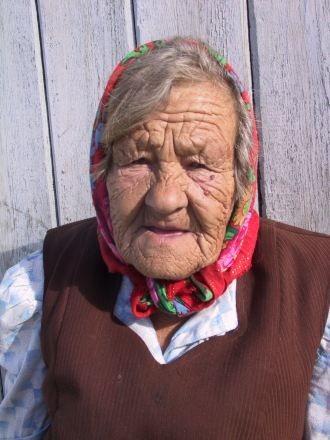 Lovely Russian Babushka (Grandmother)