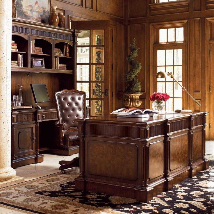 Home Desk Design Ideas: 25+ Best Ideas About Traditional Home Offices On Pinterest