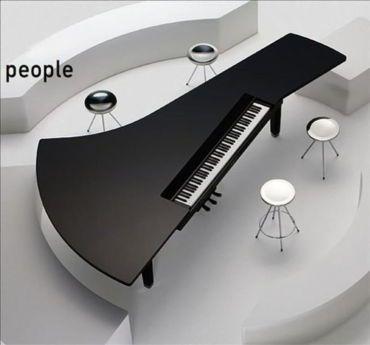 Piano Bar. The Yamaha Concept Piano Table.