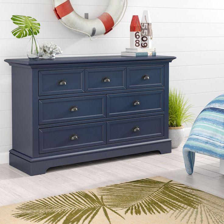 Ardie 7 Drawer Dresser With Mirror