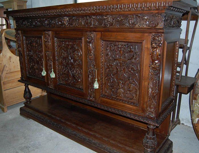 17 migliori idee su credenze antiche su pinterest com for Stili mobili antichi