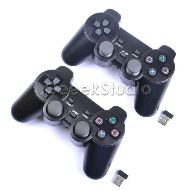 2 Pcs/Set! 2.4GHz Wireless Game Controller Gamepad Joystick Joypad for Raspberry Pi 3 Retropie PC #Affiliate