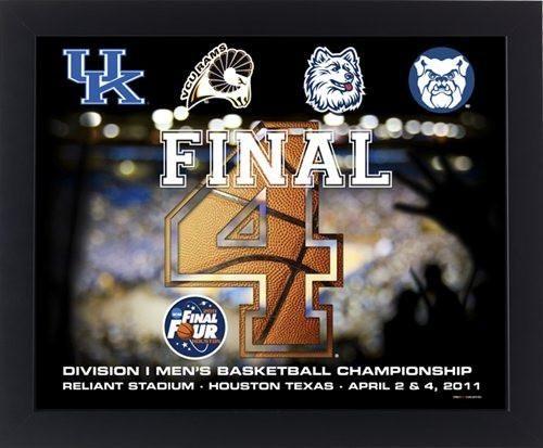 2011 NCAA Final Four Teams Basketball Print (16x20)