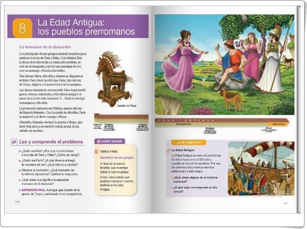 """Unidad 8 de Ciencias Sociales de 4º de Primaria: """"La Edad Antigua: los pueblos prerromanos"""""""