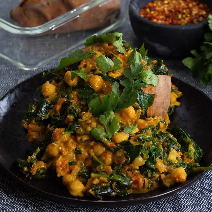 Spicy Chickpea Curry Easy Delicious Healthy We