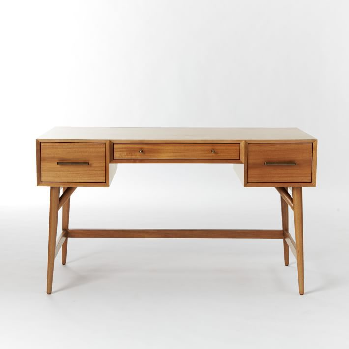 Mid-Century Desk [Acorn] from West Elm