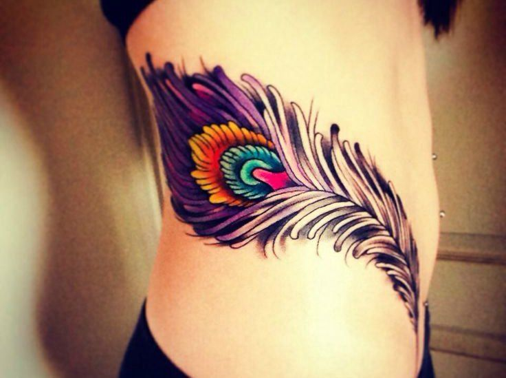 37 best colorful peacock tattoos images on pinterest feather tattoos peacock feathers and. Black Bedroom Furniture Sets. Home Design Ideas