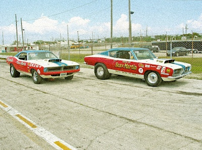 The Sox & Martin Plymouths... These guys ruled in the old 4 speed pro stock days!