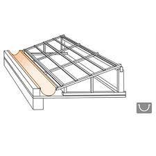 Resultado de imagem para inclinação de telhado platibanda