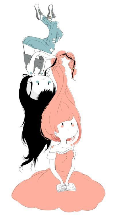 marceline and princess bubblegum
