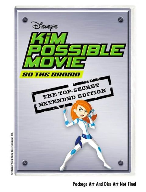 This disc offers an extended edition of the Kim Possible feature-length movie, So the Drama. The film is presented in a widescreen anamorphic transfer...