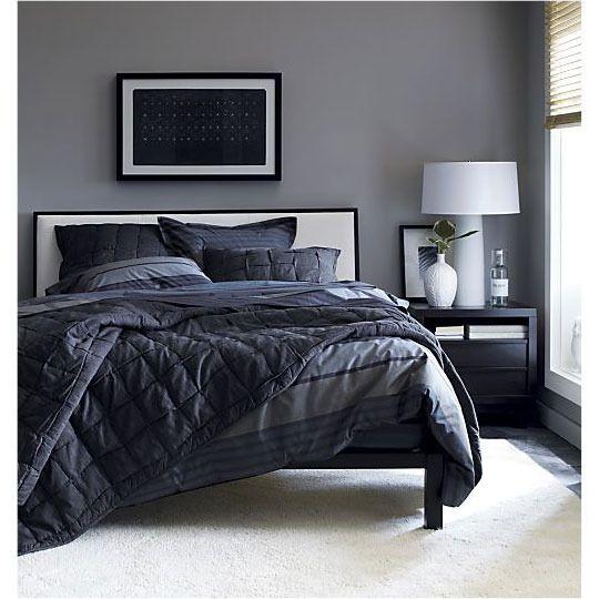 Die besten 25 maskuline schlafzimmer ideen auf pinterest - Rauchblau wandfarbe ...