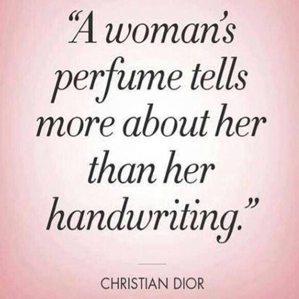 A woman's perfume